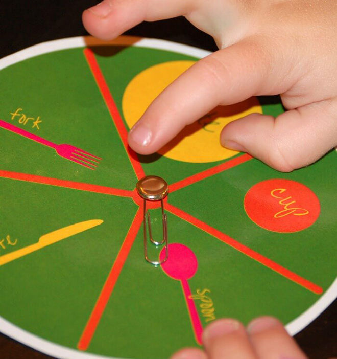 Play a game - easy step by step ways to get the kids setting the table.
