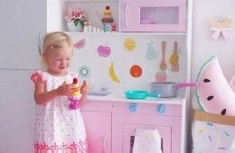 Kmart play kitchen hacks