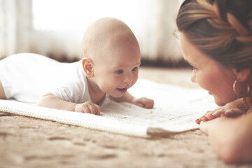 Tips for tummy time with baby