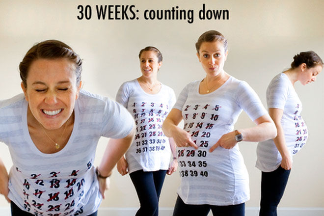 Pregnancy Memories - Countdown T-shirt