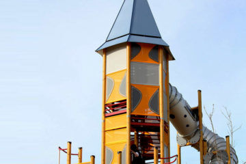 Rocket Tower at Buckingham Playground