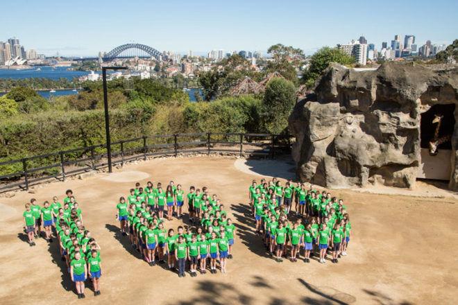 Taronga Zoo's 100th birthday parade