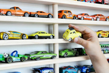 how to store toy cars