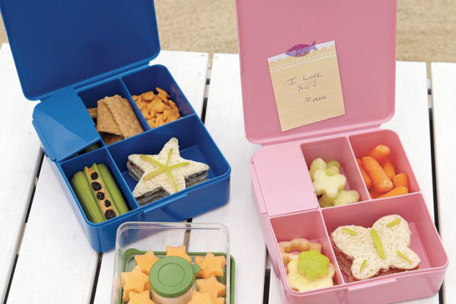 Pottery Barn Kids Bento Lunch Boxes