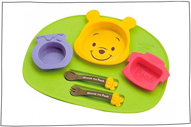 lunch set winnie the pooh