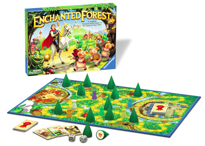 Family Games: Ravensburger Enchanted Forest