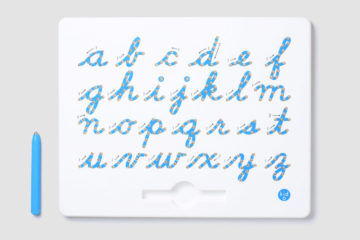 Kid O - A to Z Magnatab Cursive Lower Case