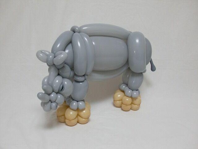Masayoshi Matsumoto - rhino balloon animal