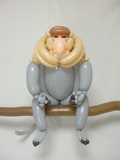 Masayoshi Matsumoto - grey monkey