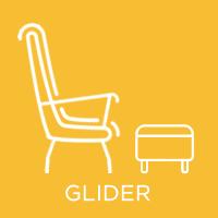 ICON Glider nursing chair