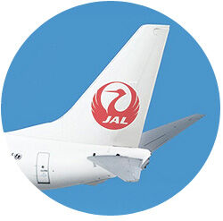Japan Airways Tail Wing