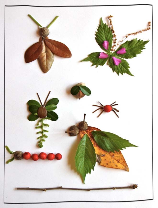 9 awesome nature-inspired creature craft activities