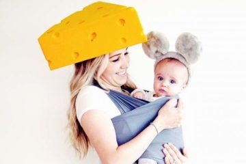 Halloween baby carrier costumes