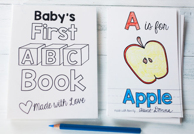 Baby's first book baby shower guest book