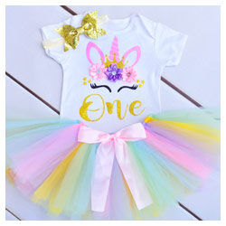 First Birthday Unicorn Outfit