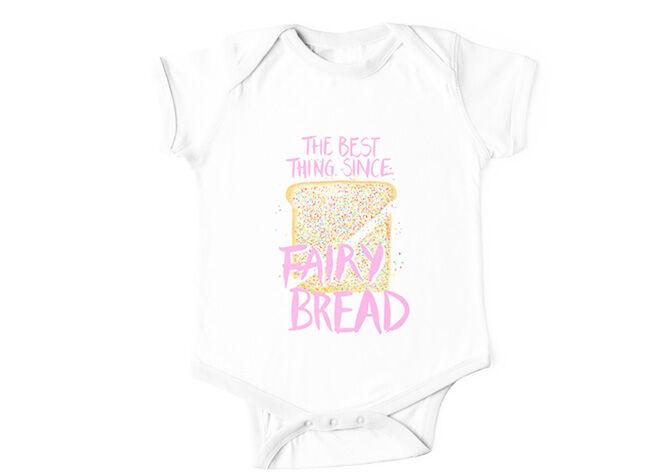 Fairy bread baby onesie Make Merriness