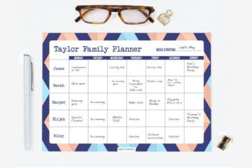 Best family planners for 2020 | Mum's Grapevine
