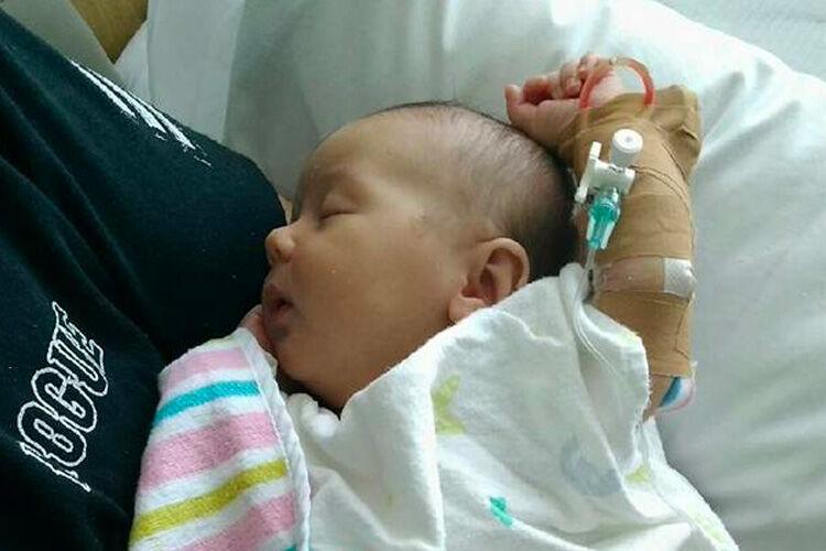 Newborn meningitis