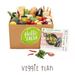 Hello Fresh Veggie Plan