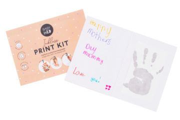 BabyInk kit Mother's Day card