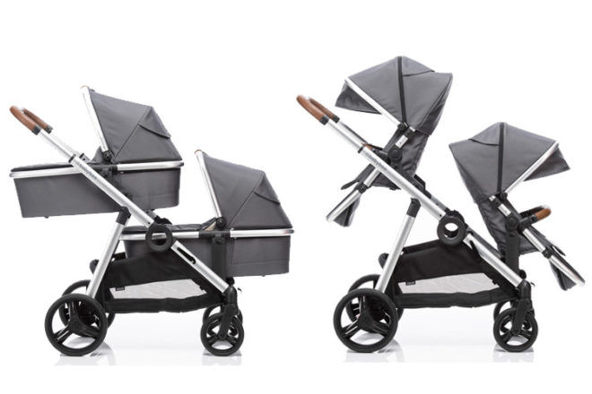 Double Pram Twin: Babybee Duo2