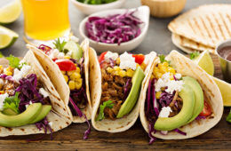 Shredded beef tacos recipe