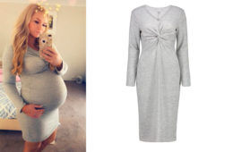 Kmart maternity dress Kristie Mame Hoffmann