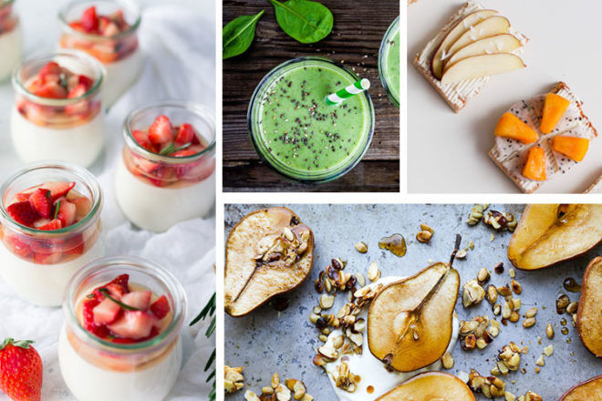 Healthy snack ideas for pregnant mums