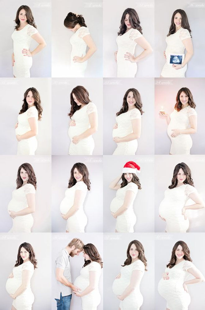 14 pregnancy week by week photo ideas: Special occasions during pregnancy photos