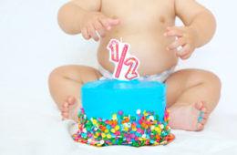 Half birthday celebration ideas