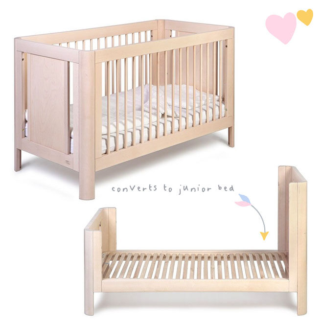Troll Sun Cot in Whitewash