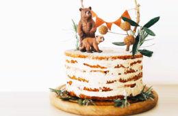 15 woodland baby shower cakes | Mum's Grapevine