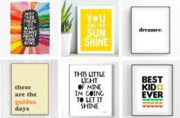 Sweet Sayings for nursry walls