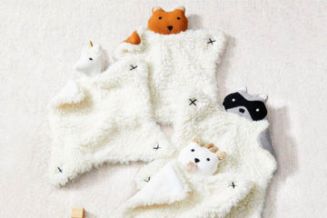 West Elm and Pottery Barn Kids Plush Animal Security Blankets | Mum's Grapevine