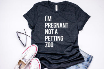 15 maternity t-shirts to rock your bump with sass | Mum's Grapevine