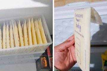 Clever tip: $6 hack for storing frozen breastmilk | Mum's Grapevine