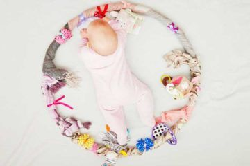 How to make a baby sensory hoop