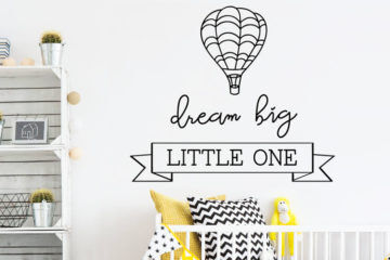 Nursery wall stickers by Red Panda | Mum's Grapevine