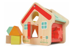 Kmart wooden house shape sorter