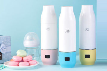 Jiffi portable bottle warmer | Mum's Grapevine