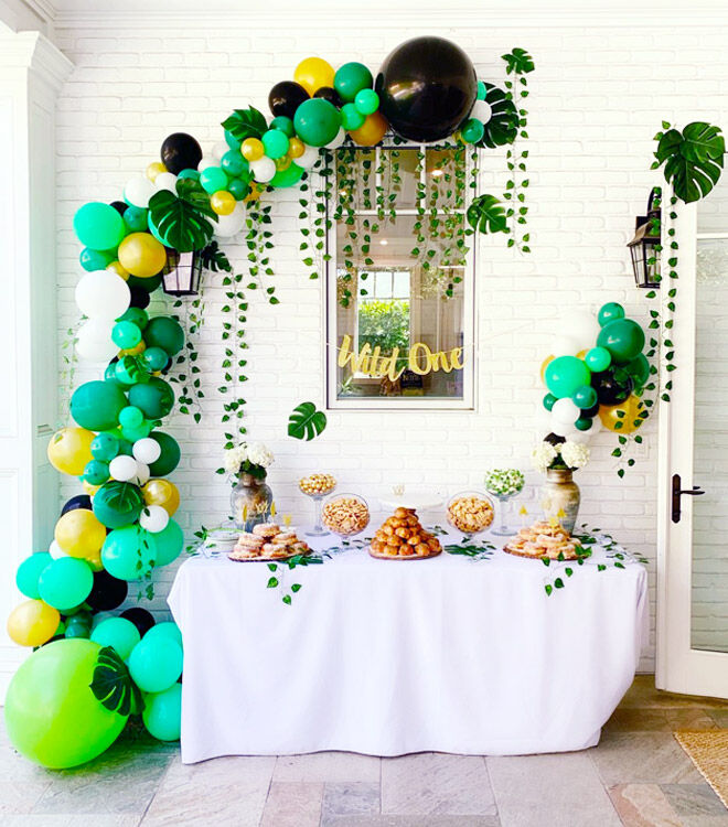 Jungle party decoration ideas