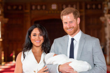 Meghan and Harry new baby
