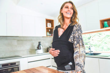 Baby Dink review, the baby carrier that pulls on like a t-shirt | Mum's Grapevine
