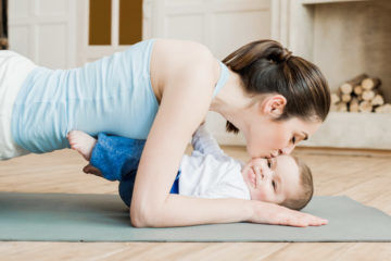 Exercise after a c-section | Mum's Grapevine