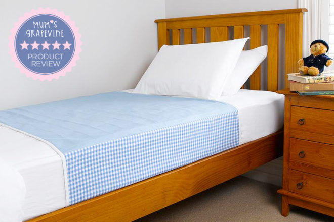 Brolly Sheets Double Mattress Protector Blue by Brolly Sheets