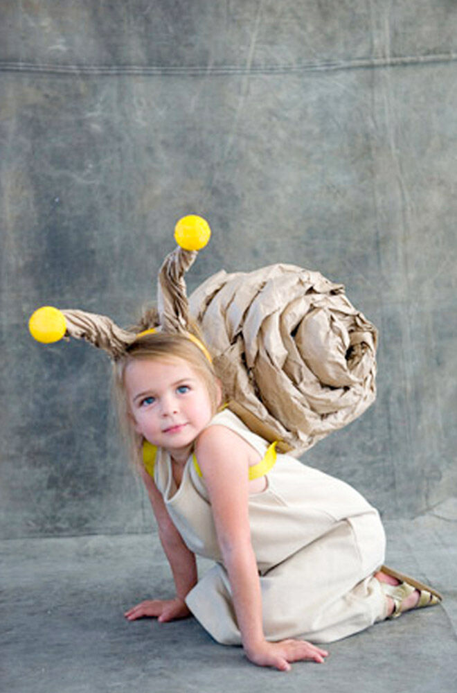 DIY Julia Donaldson costume, The Snail and the Whale