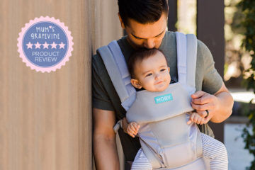 Moby Move All Position Baby Carrier Review | Mum's Grapevine
