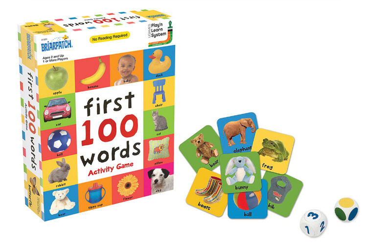 First 100 Words Activity Games