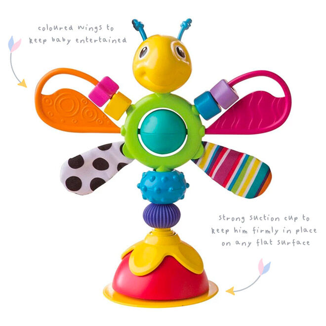 Freddie the Firefly highchair toy, Lamaze