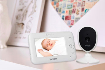 Oricom Secure740 digital video baby monitor